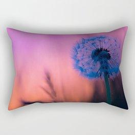 Dandelion time Rectangular Pillow