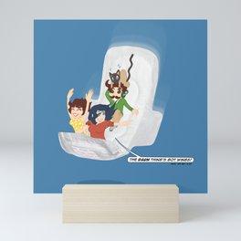 The Maxisode Mini Art Print