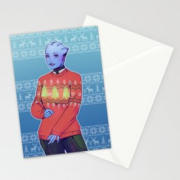 Liara T'soni Stationery Cards