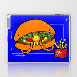 Food Series - Burger Laptop & iPad Skin