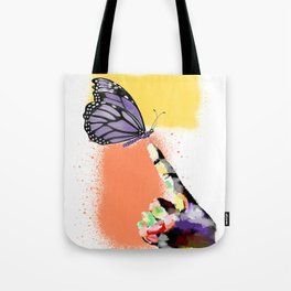 Come here sweet butterfly Tote Bag