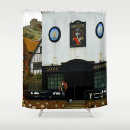 The Lord Nelson Shower Curtain