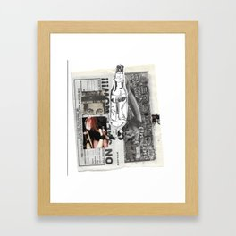 BC I SAY SO! Framed Art Print