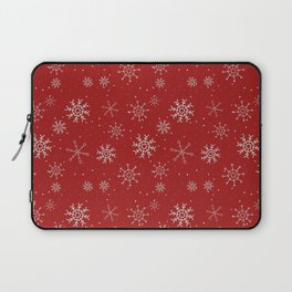 New Year Christmas winter holidays cute pattern Laptop Sleeve