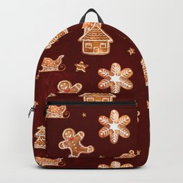 Gingerbread Cookies in Red Backpack