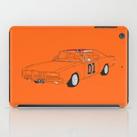 general iPad Cases featuring General Lee by Martin Lucas