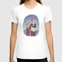 mulder T-shirts featuring Mulder & Scully by Kaz Palladino