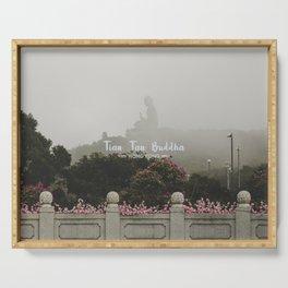 Hong Kong Tian Tan Buddha Serving Tray
