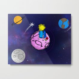 El Principito / The Little Prince Metal Print