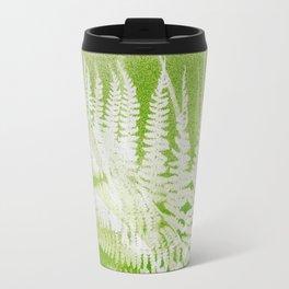 Airbrushed bracken frond and grasses Travel Mug