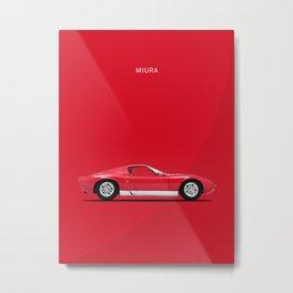 Miura 67 Metal Print