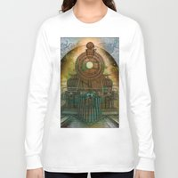 train Long Sleeve T-shirts featuring Train by evisionarts