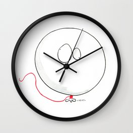 MR BALLON Wall Clock