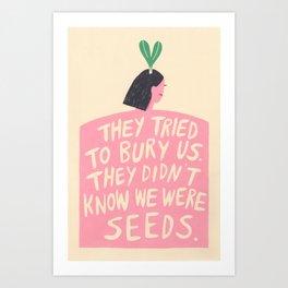 Women's March Poster 2017 Art Print