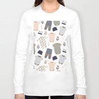 baby Long Sleeve T-shirts featuring baby by Ceren Aksu Dikenci