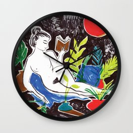 Summer Reading Wall Clock