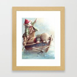 Friendship - The Wind in the Willows Framed Art Print