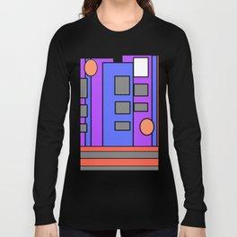 The Artist at Night Long Sleeve T-shirt