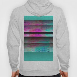 Turquoise Color Blinds Hoody