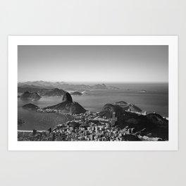 Black Rio Art Print