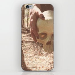 Catacomb Culture - Skull Witch iPhone Skin