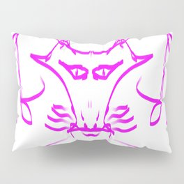 Lilac fox waiting for Little Red Riding Hood Pillow Sham