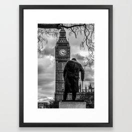 Churchill Empire Framed Art Print
