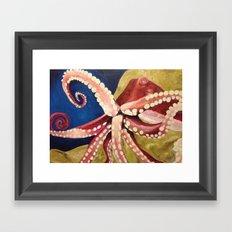 Locomoctopus Framed Art Print