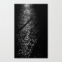 Cobbles at Sunrise Canvas Print