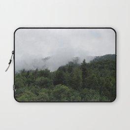 Foggy Trees (unedited version) Laptop Sleeve