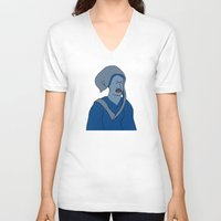 headdress V-neck T-shirts featuring Headdress by Addison Karl