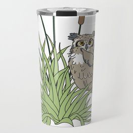Things Swedes Say - I Sense Owls in the Bog Travel Mug