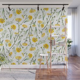 Buttercups Wall Mural