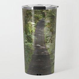 Border Collie on a Walk Travel Mug