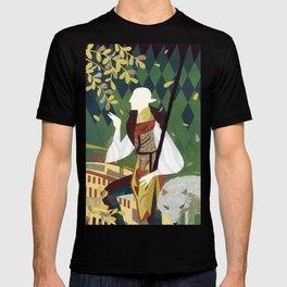 Dragon Age Solas Tarot Paper Art T-shirt