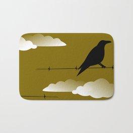 Quoth the Raven, Nervermore Bath Mat