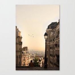 montmartre mornings Canvas Print