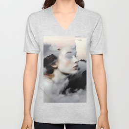 Among The Clouds Unisex V-Neck