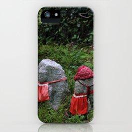 Three Tiny Guardians iPhone Case
