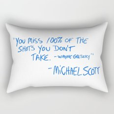 The Office Quote Rectangular Pillow