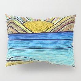 Psychedelic Sunrise Pillow Sham