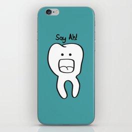 Say Ah! iPhone Skin