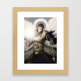 Angemon! Framed Art Print