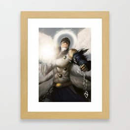 Angemon! Framed Art Print