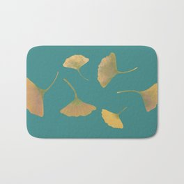 Flying ginkgo Bath Mat