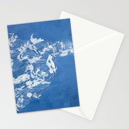 Thief of the waves Stationery Cards