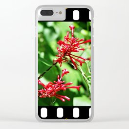 Jungle blossom Clear iPhone Case