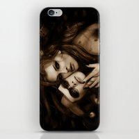 gotham iPhone & iPod Skins featuring Gotham Sirens by Isaiah K. Stephens