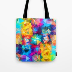 Summer Triangles Tote Bag