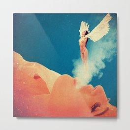 Quiverish Smoke Angel 2 Metal Print